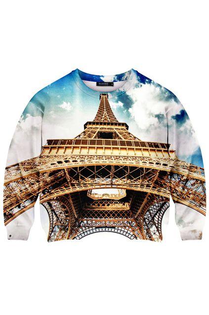 wieża eiffla bluza romwe s m