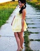 sukieneczka cytrynowa