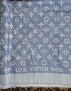 louis vuitton blue jeans duza apaszka kwadrat...