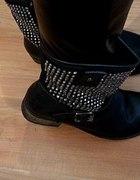 Worker Boots Czarne Cwieki