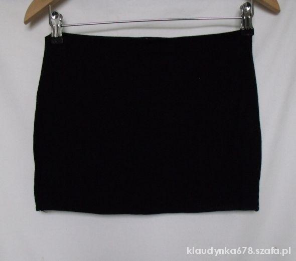 Spódnice Czarna bandażowa spódniczka ok 38 M mini