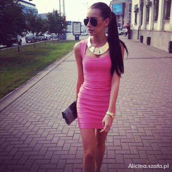 Eleganckie Black n pink