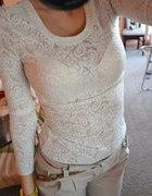 koronkowa bluzka