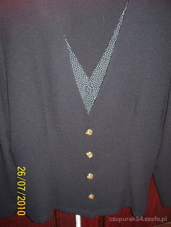 Bluzki Elegancka czarna bluzeczka