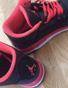 aair jordans retro 3 black and red...