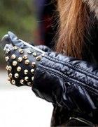 Poszukiwane rękawiczki skórka ćwieki