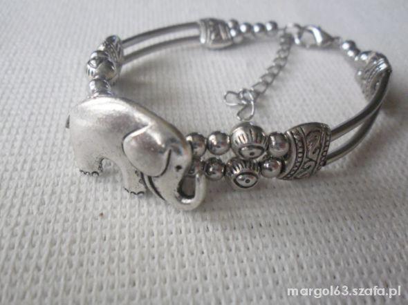 bransoletka slon