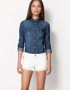 Koszula jeansowa BERSHKA