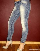 Spodnie marmurki damskie