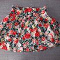 spódnica h&m w kwiaty blogerska 38 M