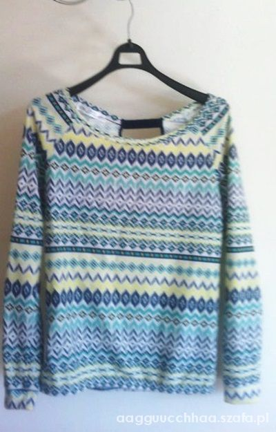 Bluzki Bluzka Bershka Aztec