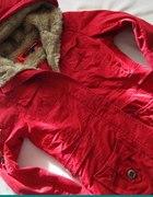 Kurtka czerwona Bershka M