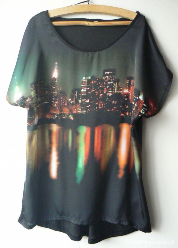 Bluzki bluzka F&F New York by night