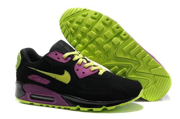 Nike air max 90 rożowo fioletowe szare w Sportowe Szafa.pl