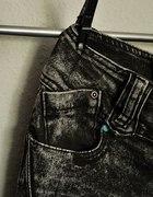 Spodnie Miss Capri rurki marmurki