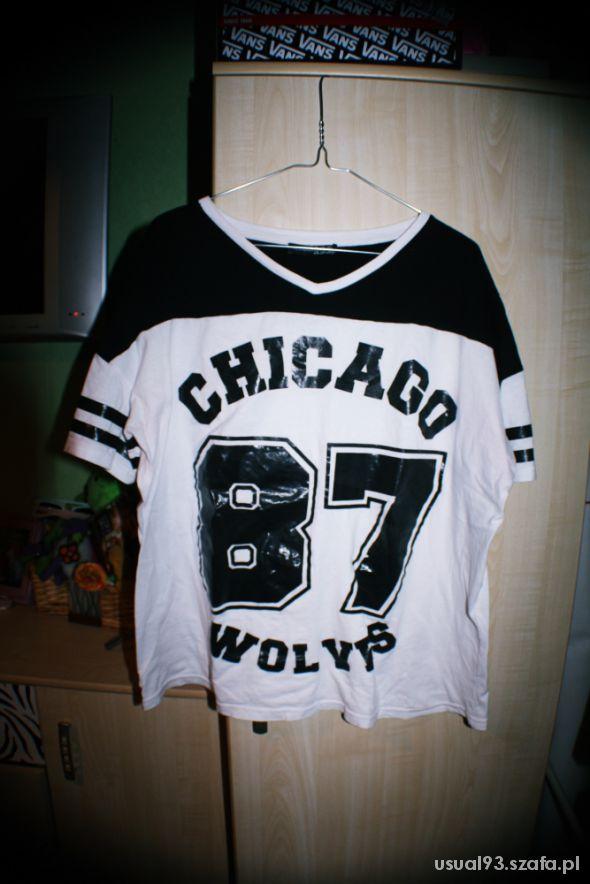Bluzki bluzka numer chicago wolyes atmosphere