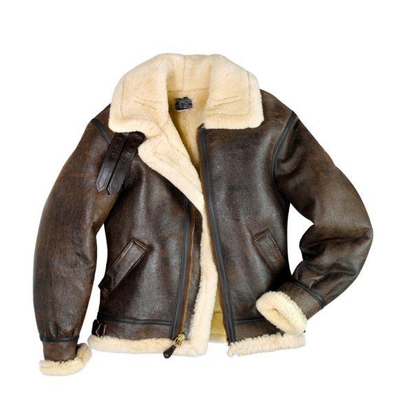 Kożuch pilotka męska bomber jacket B2 B3