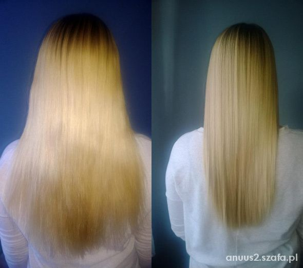 Moje włosy po keratynowym prostowaniu