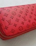 portfel duży czerwony