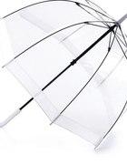 Przezroczysty głęboki parasol