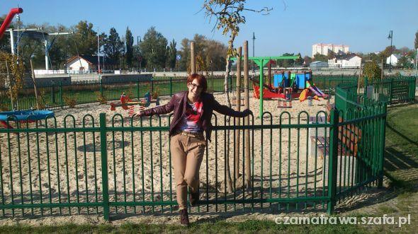 Mój styl Marchewy i ramoneska kolory jesieni
