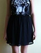 Sukienka tygrys