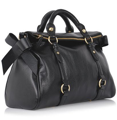 MIZENSA czarna torebka