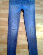 Legginsy imitacja jeansu 40 L