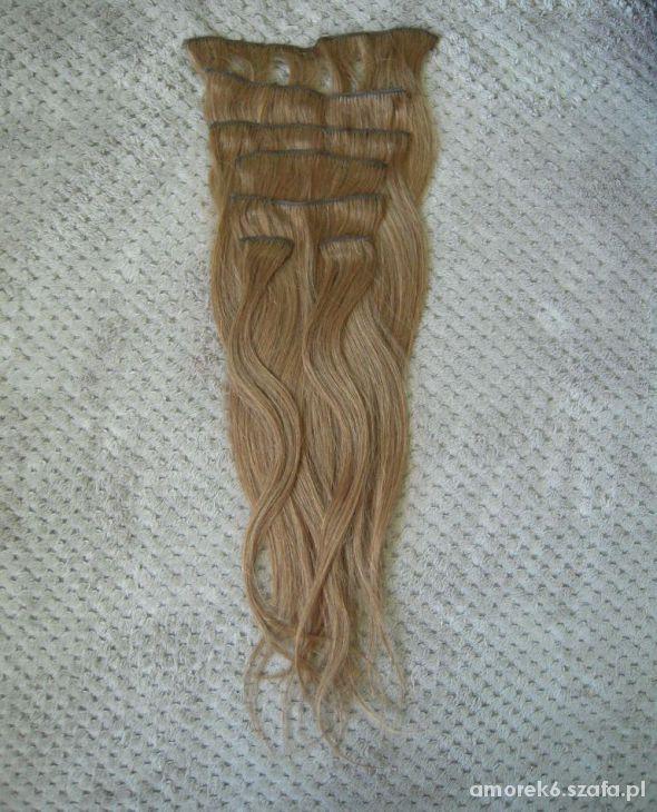 Pozostałe włosy naturalne clip in