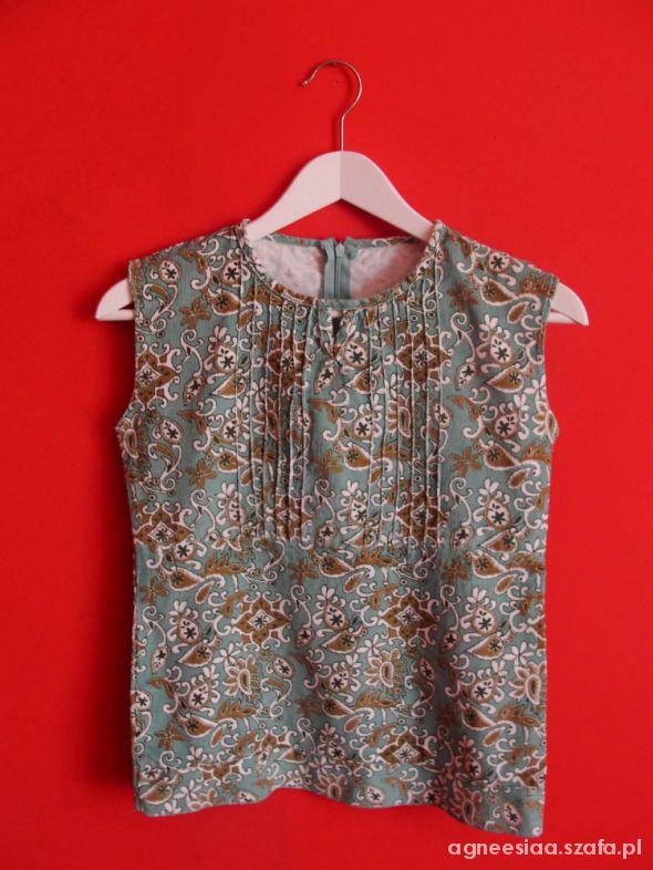 Bluzki wzorzysta bluzeczka S