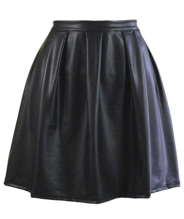 Spódnice spódniczka a la skóra