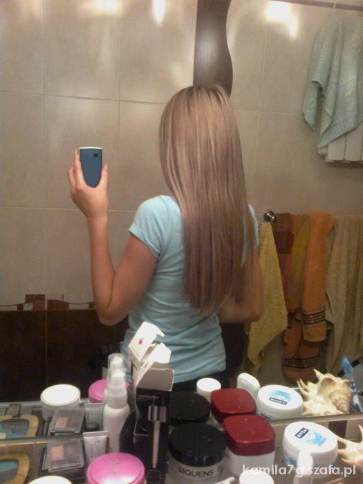 Popielaty blond...