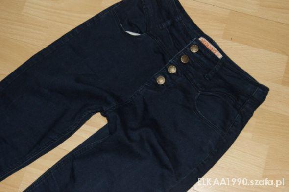 NEW LOOK rurki jeansowe WYSOKI STAN 164CM