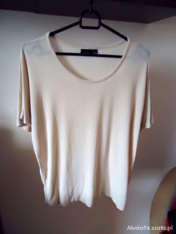 Bluzki bluzka beżowa oversize Fransa XS S M