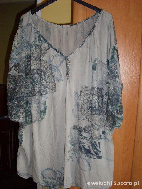 Bluzki sliczna bluzka duzy rozmiar 50 52