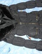 Płaszczyk z kożuszkiem Zara Basic