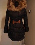 MANDY płaszcz płaszczyk zimowy pikowany jenot