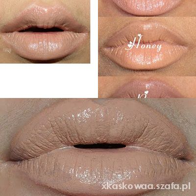 NYX pomadka szminka HONEY nude lips...