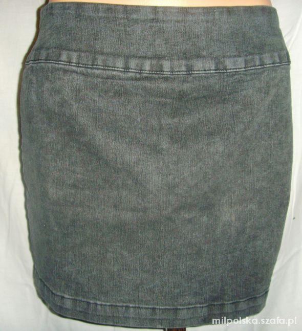Spódnice Marmurkowa jeansowa spódnica