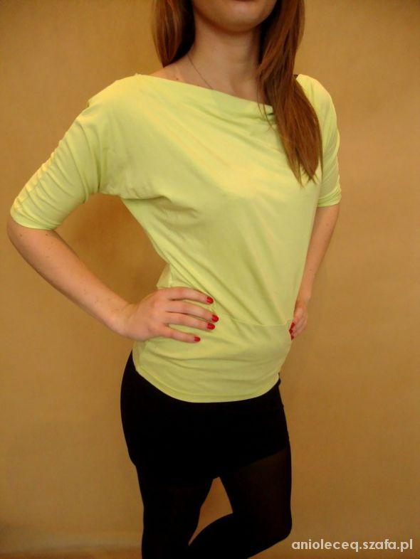 Bluzki limonkowa bluzka