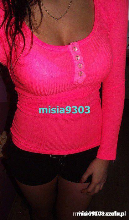 bluzka neon z wysylka