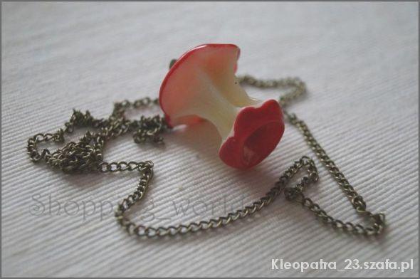 Biżuteria jabłko naszyjnik