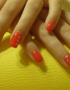 Stylizacja paznokci na tipsie lub żelemRuda Śl...