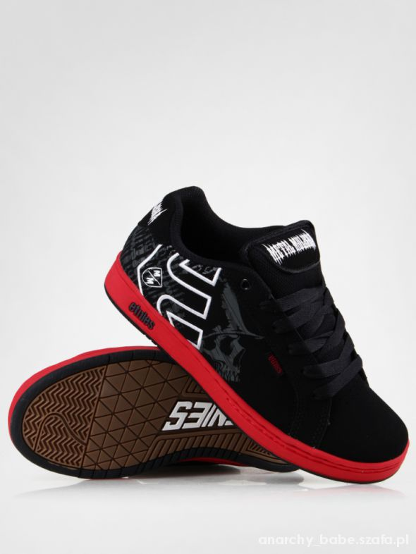 ETNIES metal mulisha kids black and red...