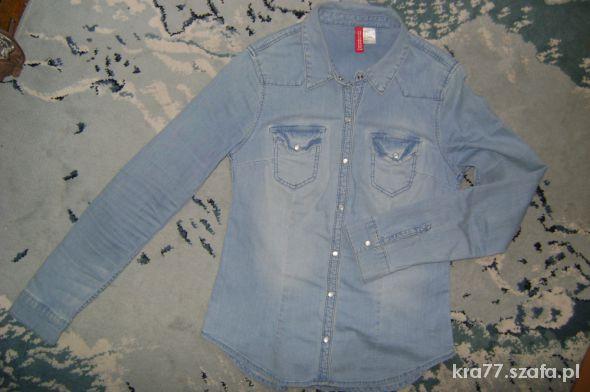 Jeansowa koszula H&M rozmiar 34