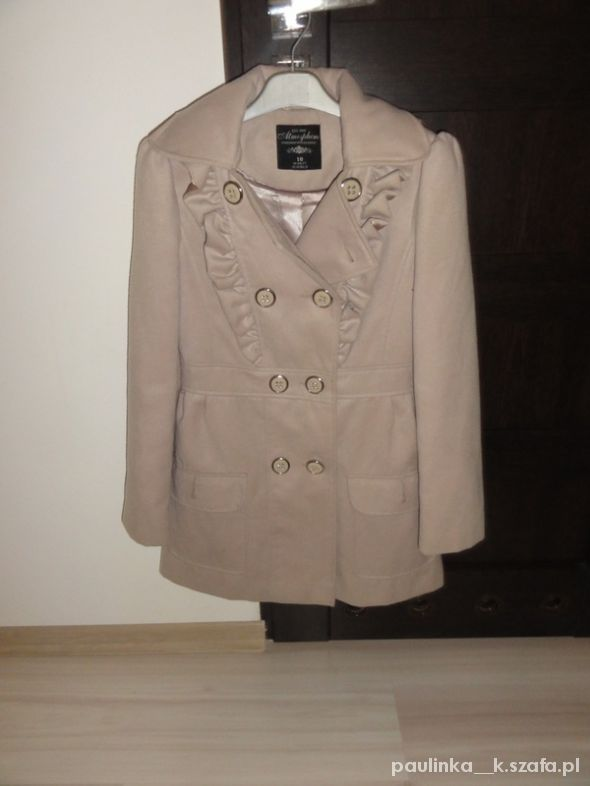 ATMOSPHERE wełniany płaszcz 36 38