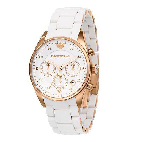 poszukuje bialy zegarek Armaniego...