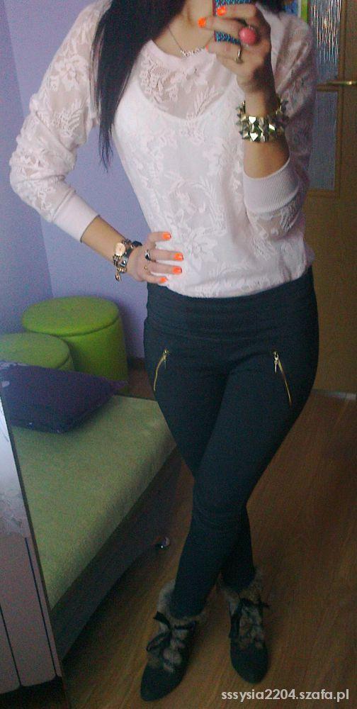 Mój styl KORONKA bluza