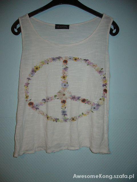 Bluzki Koszulka Peace