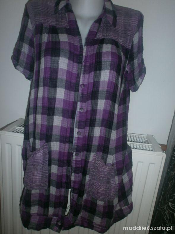 Bluzki koszula w krate